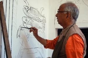 Artist K G Subramanyan